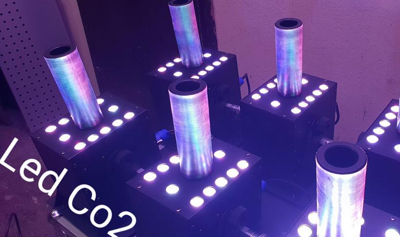 Dobavljen nov set Co2 LED yetov
