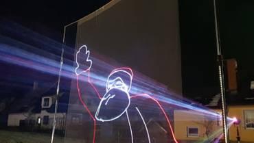 Laserska grafična animacija